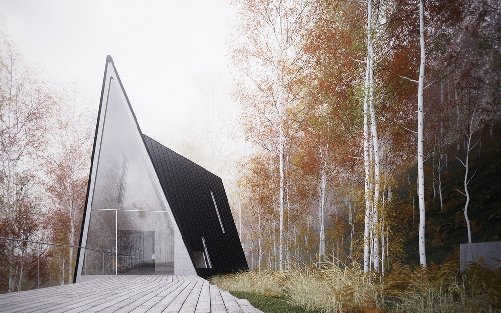 A-mazing House – The Perfect Getaway House in The Forest