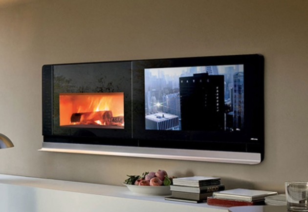 5 stunning fireplaces to keep your house warm this winter - Chimenea electrica mueble ...