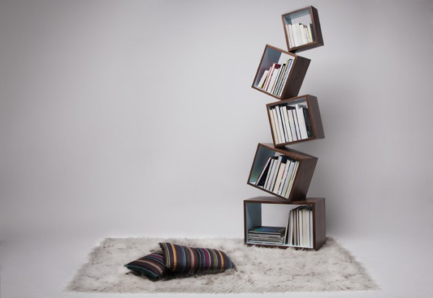 Equilibrium Bookcase: Interesting design by Malagana Design
