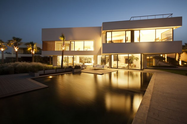 The Star House in Bnaider, Kuwait by AGi Architects
