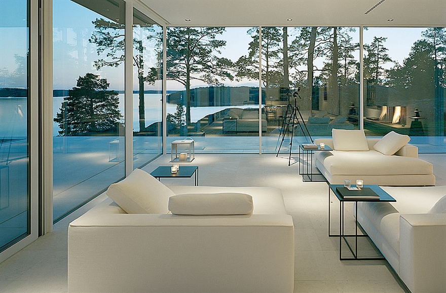 Swedish House with Stunning Lake Views