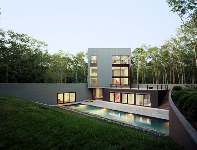 The Sagaponac House by Tsao & McKown Architects