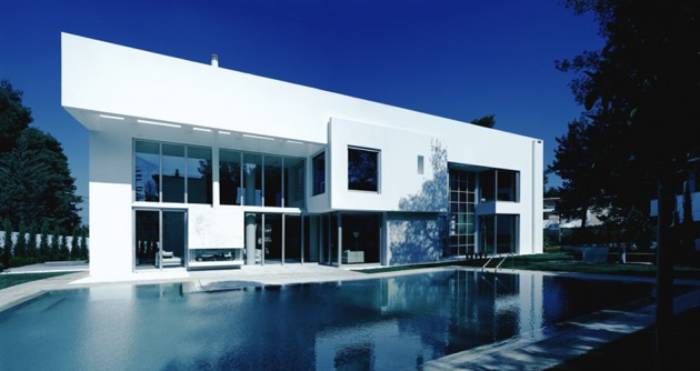 The Wide Open Villa in Athens, Greece