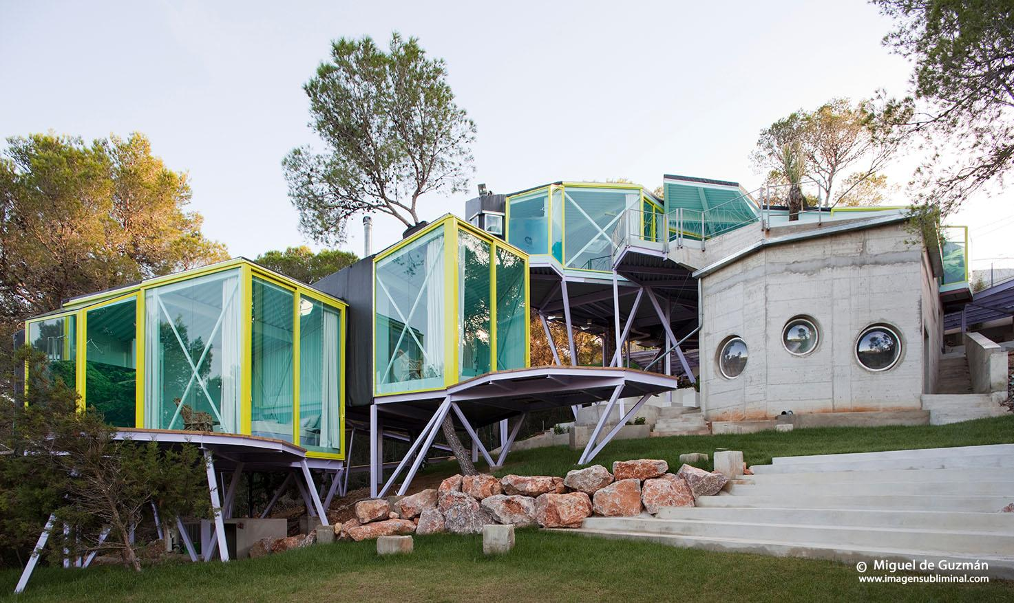 The Never Never Land House in Ibiza