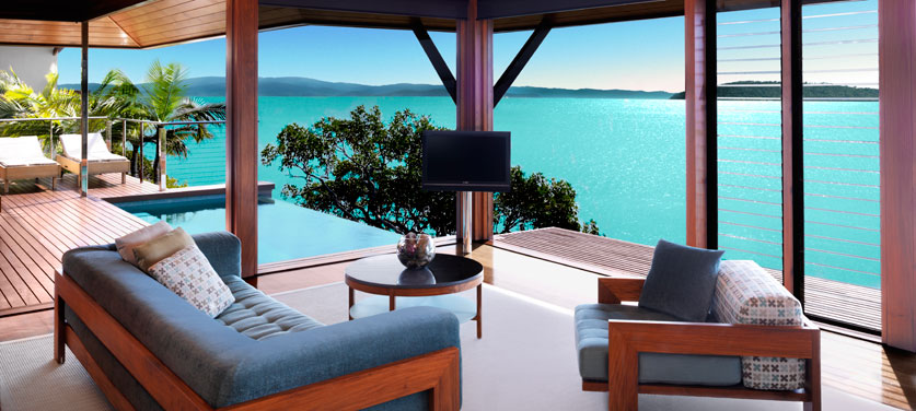 Stunning beach house with coral sea views - House with a view ...