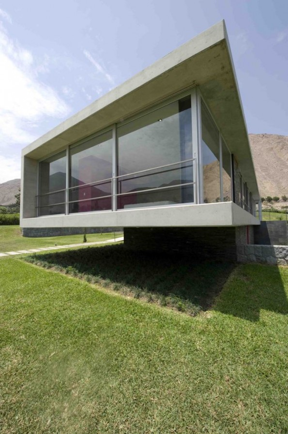 House on the Andes by Juan Carlos Doblado
