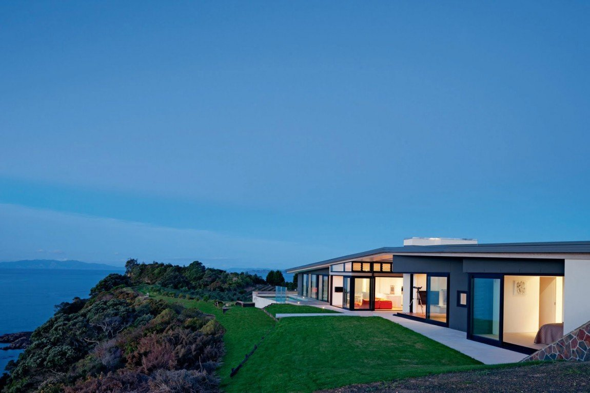 The Korora House, Dream House in Auckland, New Zealand