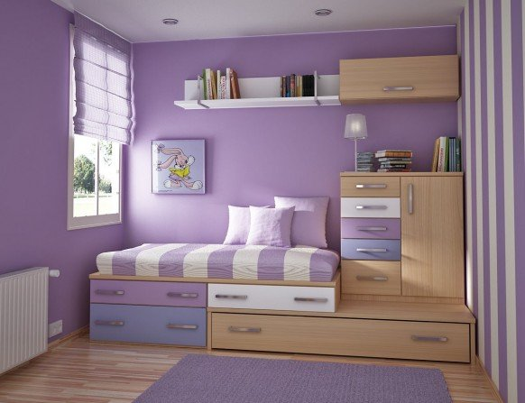 How to Make a Colorful Small Bedroom for your Kid