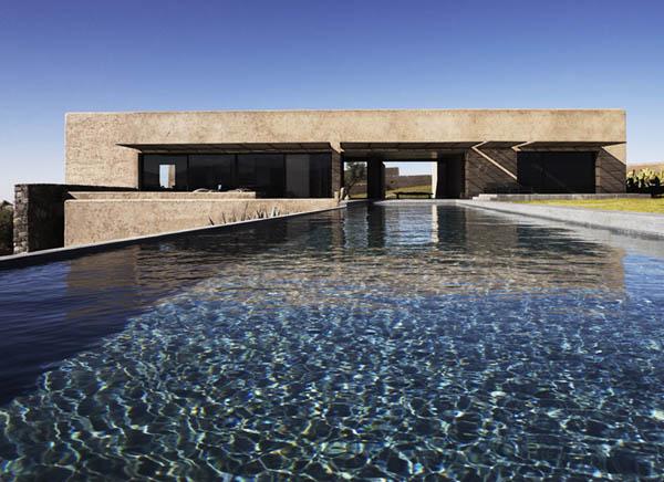 The Villa K, Modern Dream Home in Morocco