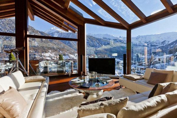 Fabulous Landscape In Switzerland – Chalet Zermatt Peak