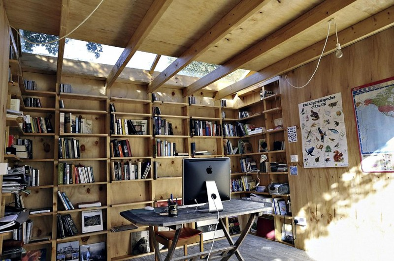 Whimsical Shed Work Space By Office Sian Architecture 3