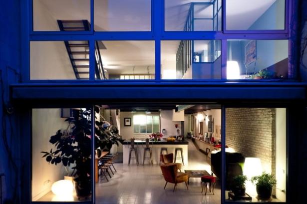 Concrete And Steel Build A Cozy Parisian Loft