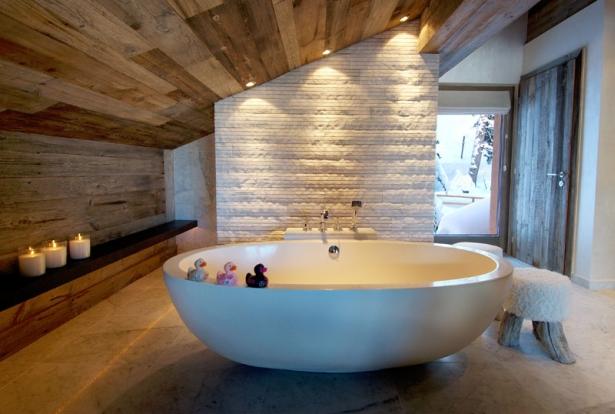 Chalet swiss alps 17 nimvo interior design luxury homes - Salle de bain design luxe ...