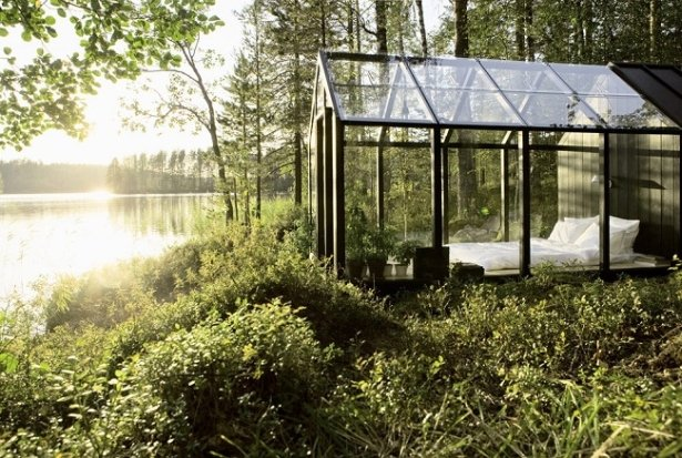 New Kind Of Paradise In A Garden Shed Cottage