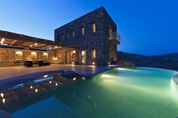 Rocking Holiday House In Mykonos. Literally!