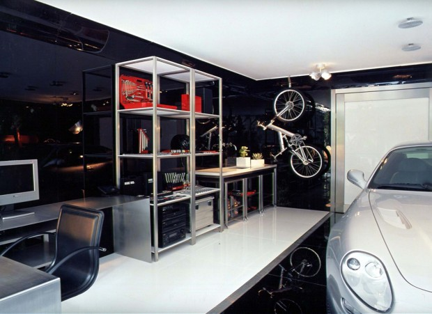 garage showroom 3 nimvo interior design luxury homes. Black Bedroom Furniture Sets. Home Design Ideas
