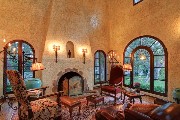 a piece of europe in california spanish colonial residence
