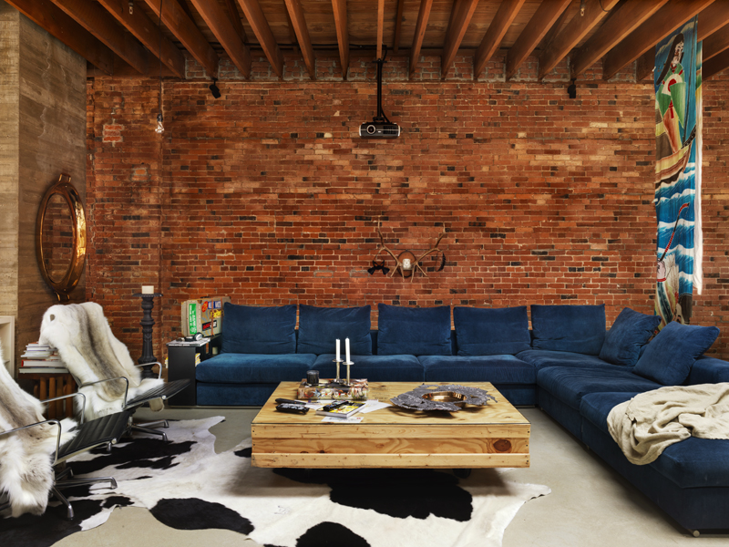 Industrial Style Looks Lovely For A Vancouver Loft