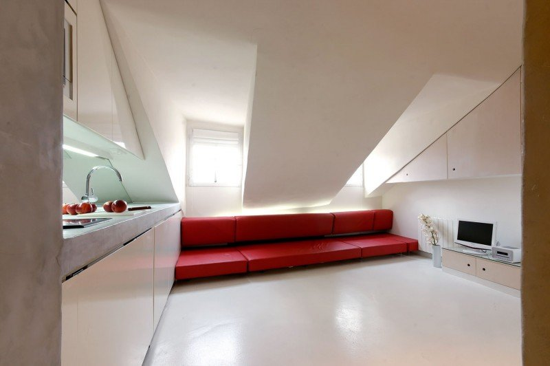 Bioappart project only 18 square meters to incorporate for 10 square meters room