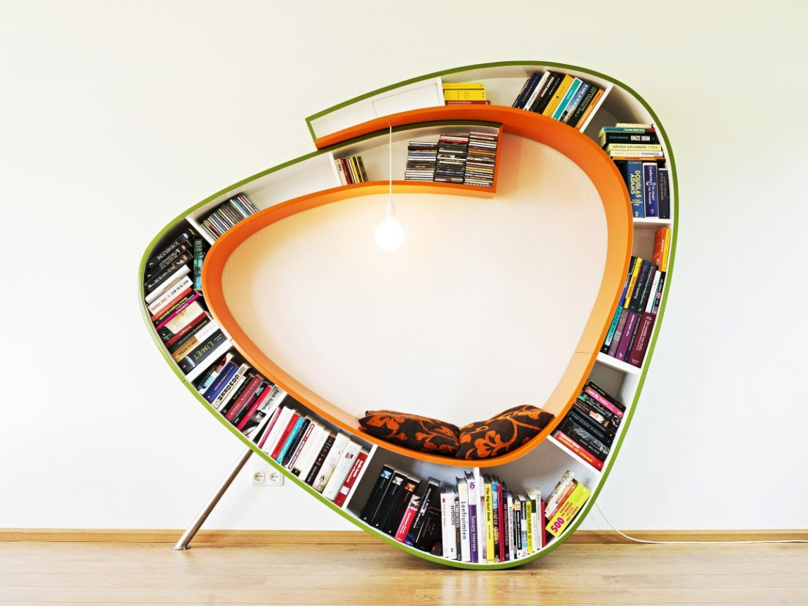 Bookworm By Atelier 010 Gives A Cozy Place To Enjoy Reading