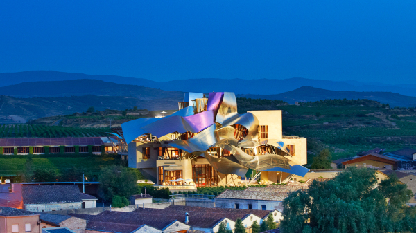 Hotel Marques De Riscal And Its Sublime Tangled Ribbon Facade