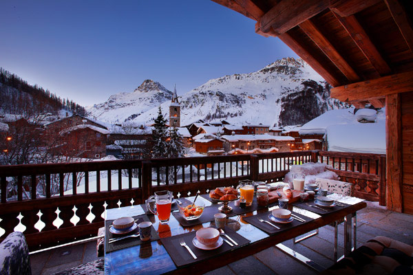 Luxury And Opulence Meet The Alps Snow In Marco Polo Chalet