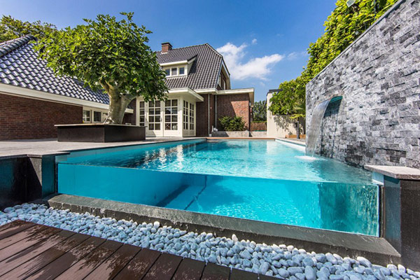 An Aquatic Oasis In The Backyard By Centric Design Group
