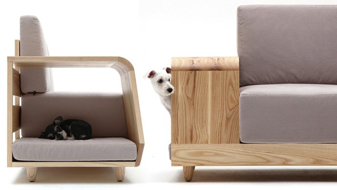 The Dog House Sofa Is The Choice For Both Owners And Their Dogs