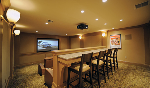 20 Examples of Excellence in Home Movie Theaters   Nimvo - Interior ...
