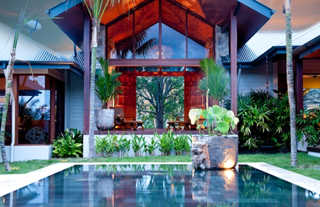 Tropical Dream House Formed By Several Incredible Pavilions
