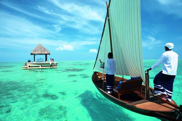 Taj Exotica Resort & Spa In The Blue Waters Of Maldives