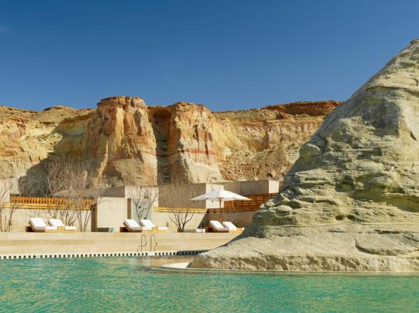 Amangiri Resort Defies The Unwelcoming Desert