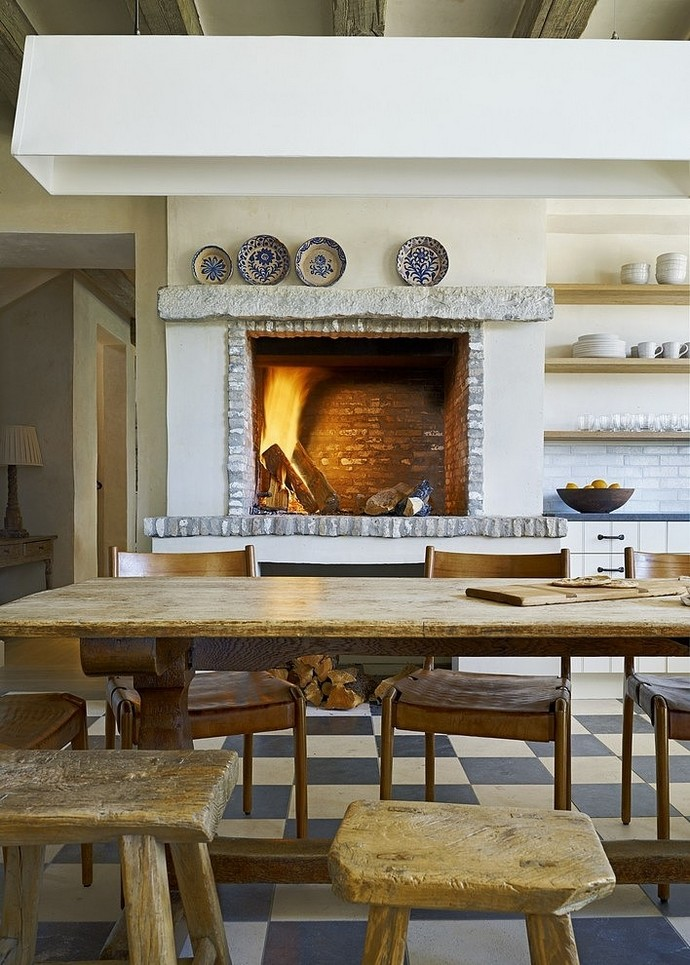 Eclectic french farmhouse style in sonoran desert arizona for French farmhouse architecture