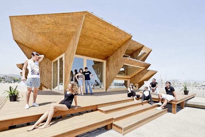 Endesa Pavilion U2013 Amazing Modular Architecture