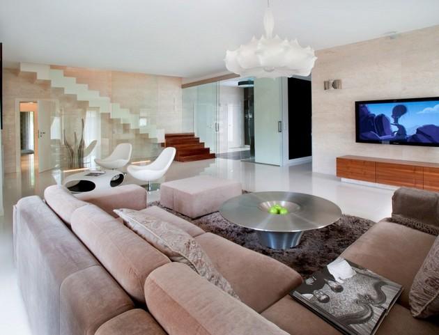 Sophisticated Konstancin House by Nasciturus Design