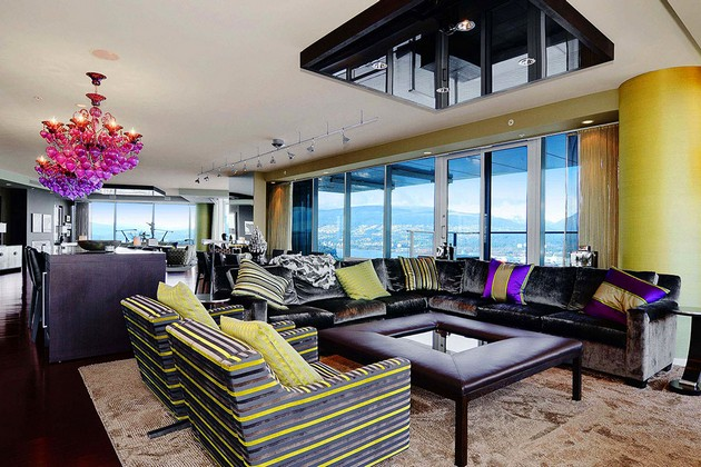 Bold And Sophisticated $21,000,000 Penthouse In Vancouver