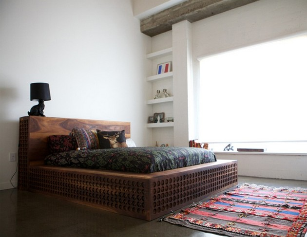 Q Lin Bed Revives The Chinese Tradition Of Wood Carving