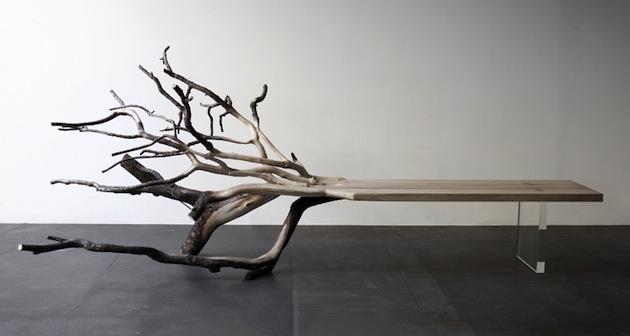 Fallen Tree Bench By Benjamin Graindorge Is An Extraordinary Piece