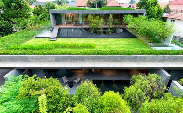 The Wall House And Its Chinese Inspired Gardens