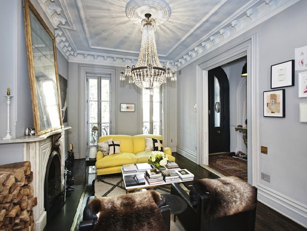Jenna lyons 39 former new york townhouse for New york townhouse interior