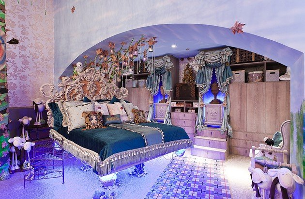Princess Bedroom Inspired By Walt Disney Movie \
