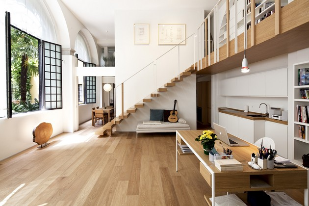 T House Creates The Perfect Working And Living Environment
