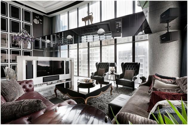 Asian Luxury Is Shown Off In The Wu-Jin-Zang House