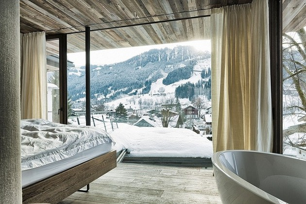 Mountain Residence Haus Walde Looks Perfect In The Austrian Alps