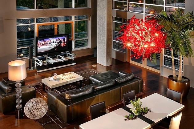 Elegantly Designed Penthouse By Benning Design Associates