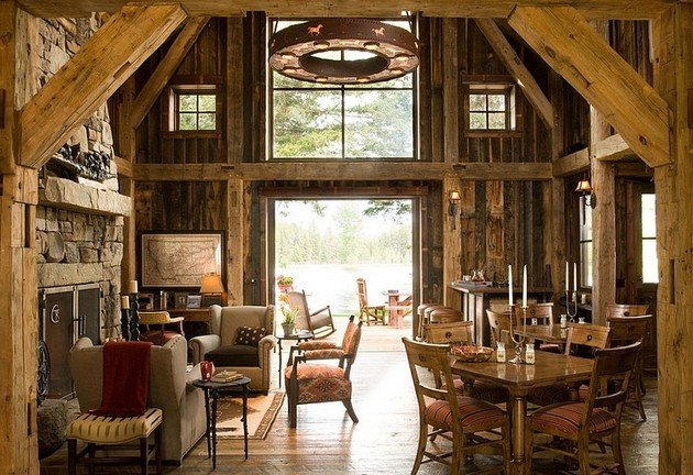 Time Seems To Have Stopped In This Gorgeous Rustic Home