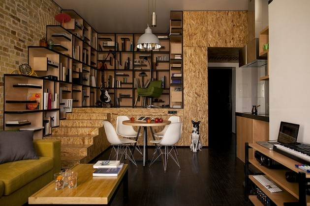 A Young Couple's Apartment By Alex Bykov