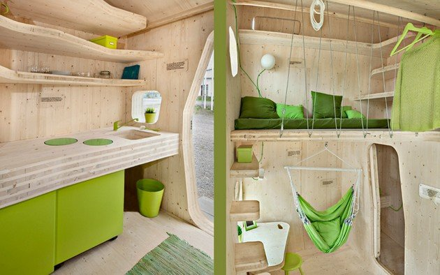 Affordable 10 Square Meters Student Flat By Tengbom Architects