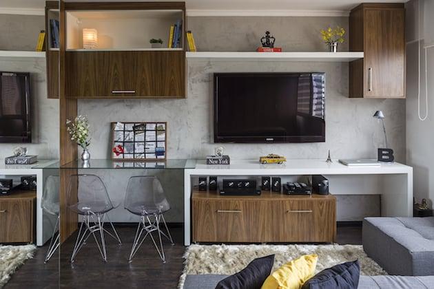Small But Chic Brazilian Apartment