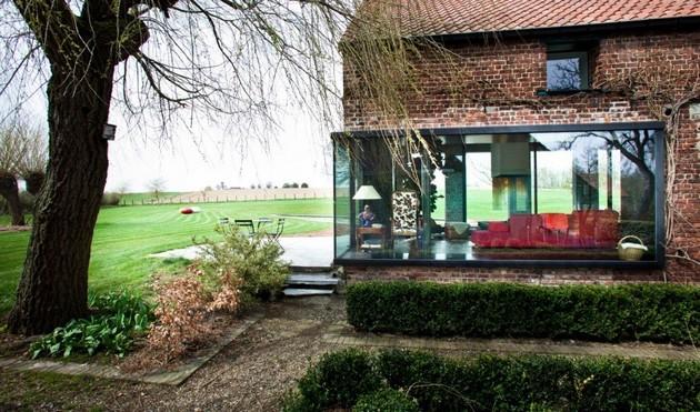 Old Farmhouse Transformed Into A Family Crib